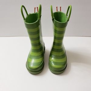Other - Kids Unisex Green Rain Boots